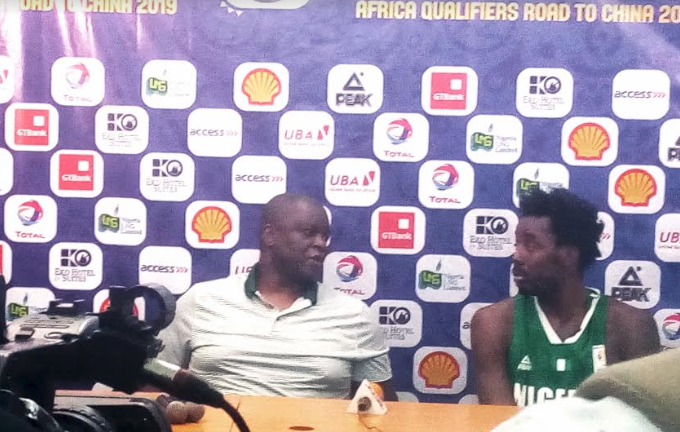 Nwora Confident D'Tigers will Improve after nervy win over Ivory Coast