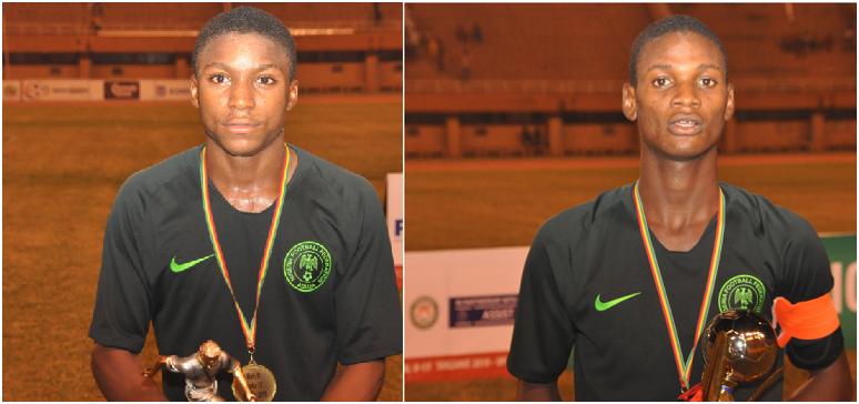 Eaglets pick MVP, Top Scorer Awards in Niger