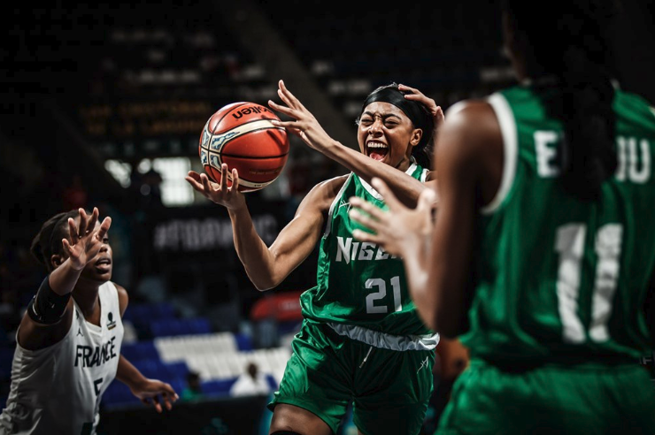 FIBA WWC: D'Tigress lose 5th Place Classification against France
