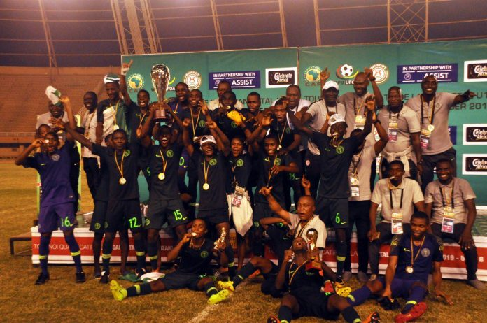 Victorious Golden Eaglets to arrive Nigeria on Thursday