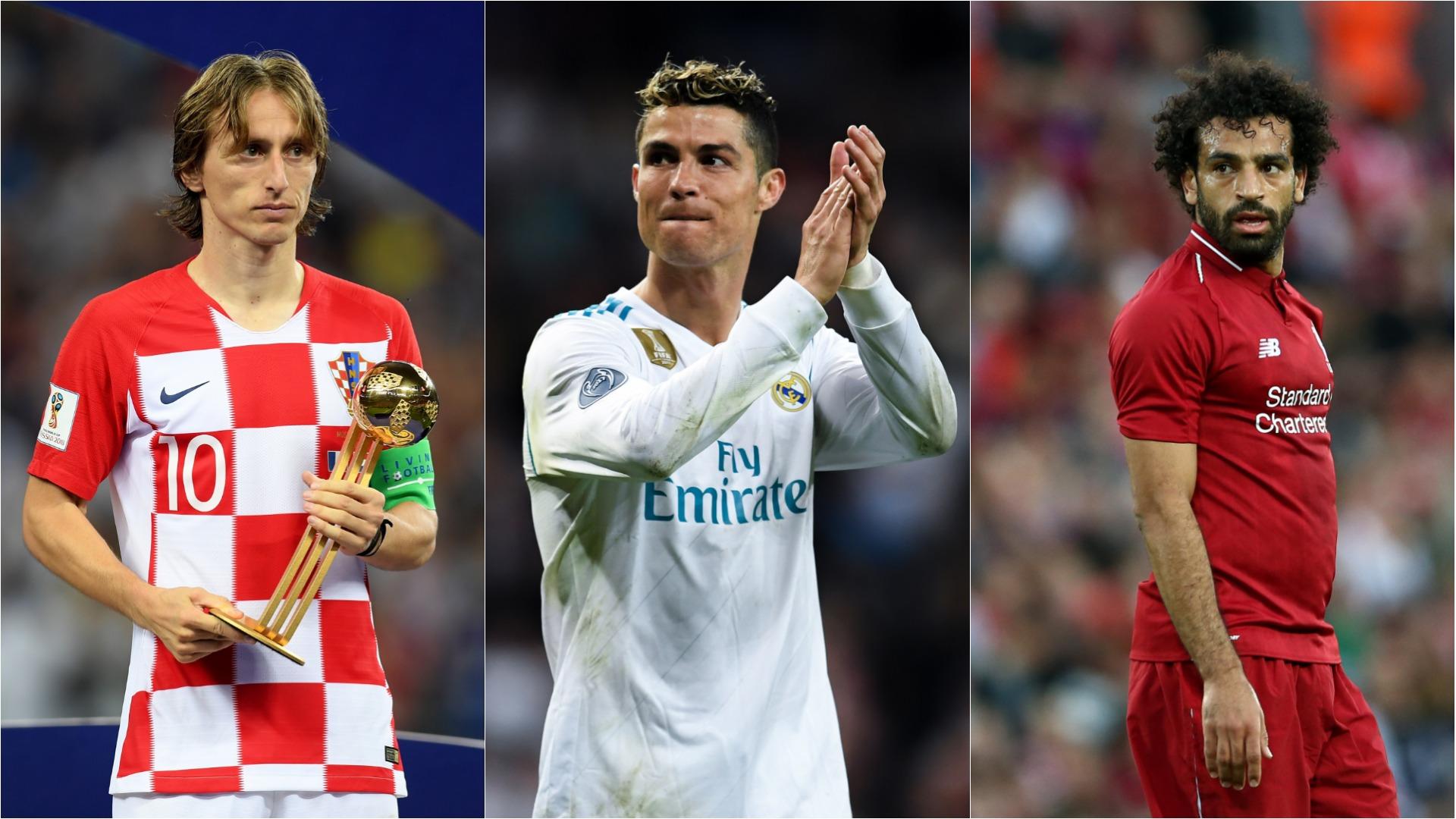 Messi ignored as Salah, Modric and Ronaldo make Fifa award shortlist