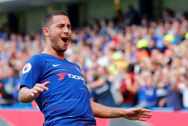 Hazard hat-trick sees off Cardiff to send Chelsea top