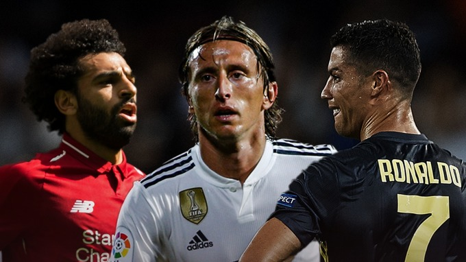 Modric, Ronaldo and Salah battle it out for FIFA's 'The Best' award