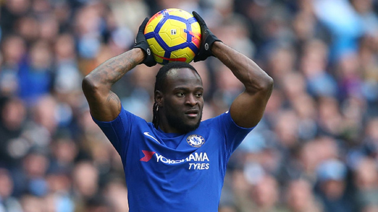Chelsea Boss Sarri names Victor Moses in Europa League squad