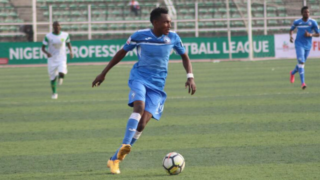 Enyimba's Alalade reveals keen contest in Dream Team VII camp