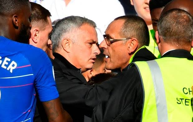 Mourinho escapes Punishment for almost beating up Chelsea Coach [who has been Charged]
