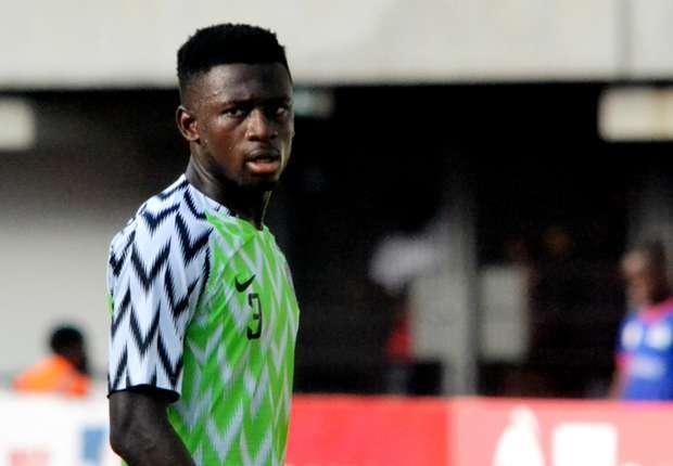 Super Eagles left back Jamilu Collins injured, could miss S/Africa clash