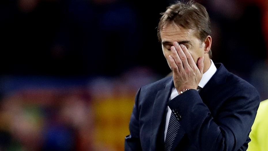 Julen Lopetegui finally sacked by Real Madrid