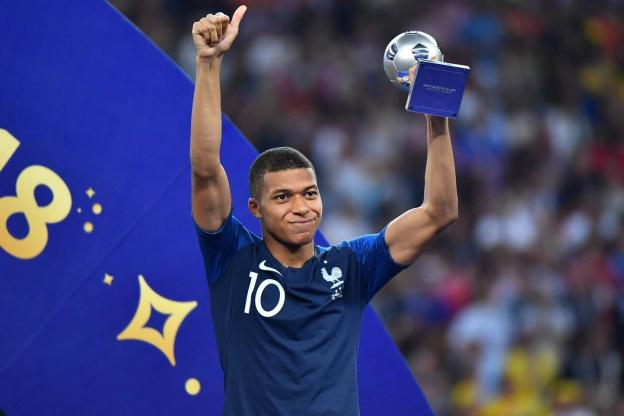 Mbappe tops Golden Boy award shortlist