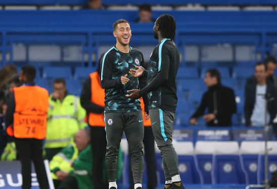 Chelsea Star Hazard Identifies one thing Moses does Better than the rest