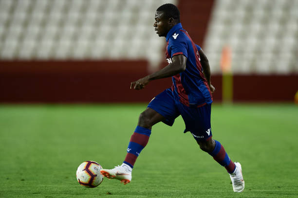 Super Eagles star Moses Simon excited by first La Liga victory with Levante
