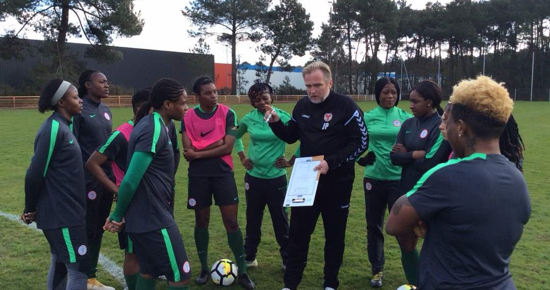 Dennerby reveals why he dropped Oshoala and Oparanozie in Falcons' China tour