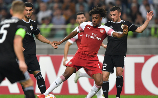 Better Days Have Come for Alex Iwobi in Arsenal