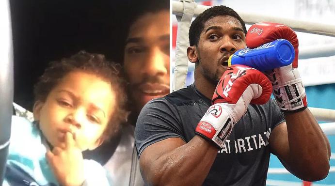 My son lacks  killer instinct to become a boxer – Joshua