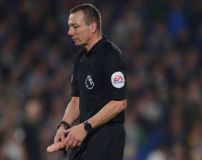 WTF! See What Referee was Caught with during Premier League game