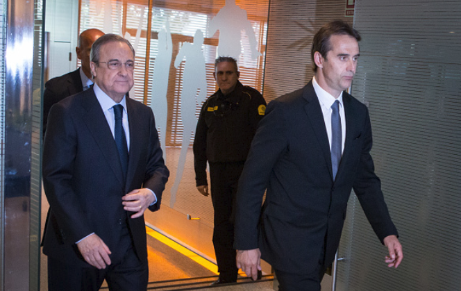 Real Madrid delay Lopetegui's Sack Letter until El Clasico