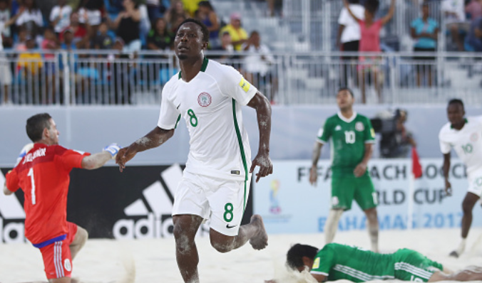 Goal of the Year! Sand Eagles Star nominated for Ronaldo-esque Bicycle Kick