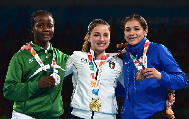 Boxing Sensation Gbadamosi says Youth Olympic Silver Medal is Consolation