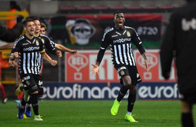Osimhen scores twice in Charleroi League win