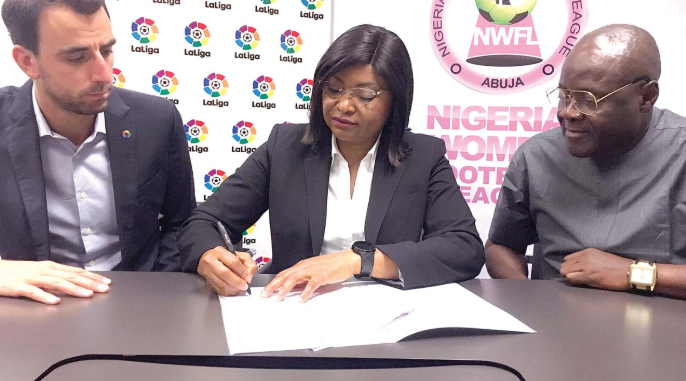 NWFL, La Liga Begin Collaborative deal to develop Women's Football