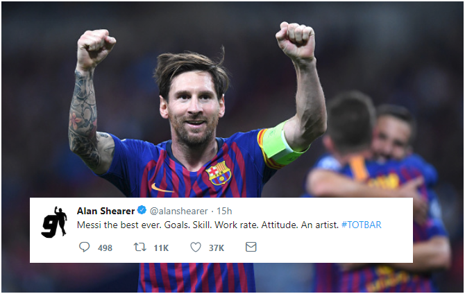 """Sorry CR7 Fans! Lionel Messi is """"the Best Ever"""""""