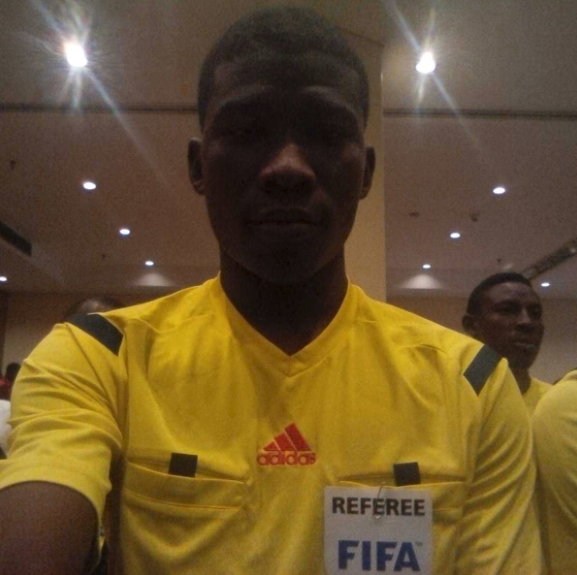 Young Nigerian Collina named referee for Aiteo Cup final