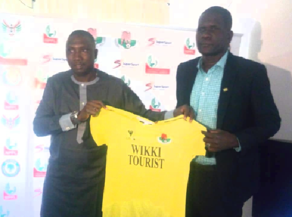 Wikki Tourists Unveils Aliyu Zubairu as new Head Coach