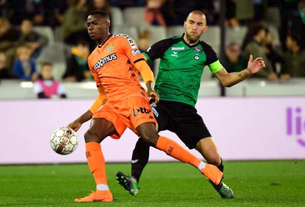 Osimhen on target for Charleroi again, to make it five goal in six games