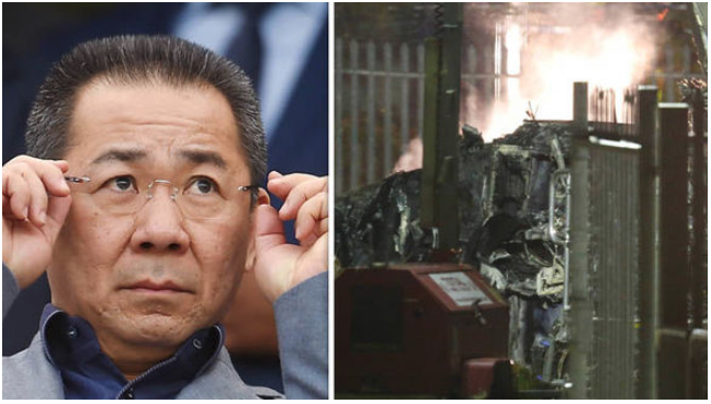 Triple Tragedy! Leicester Owner aboard Crashed Helicopter on Black Saturday for English Football