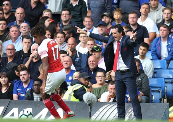 Emery reveals Tonic Behind Alex Iwobi's Dazzling form