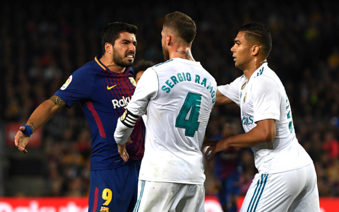 Suarez Show! Hat-trick Hero Peppers Real Madrid in 5-1 El Clasico Trouncing