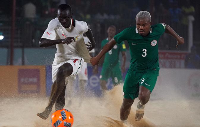 Eagles Coach identifies Nigeria's biggest threat at Beach Soccer Tournament