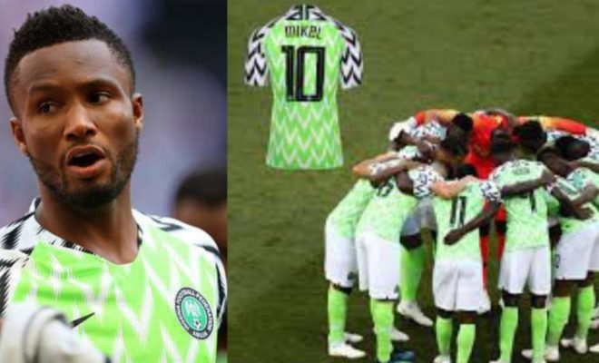 Mikel's 2018 World Cup Jersey added to FIFA Museum