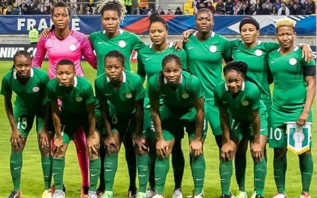 brand new e45d8 ada41 AWCON 2018  Falcons coach Dennerby invites Oshoala, Oparanozie   46 others  to camp
