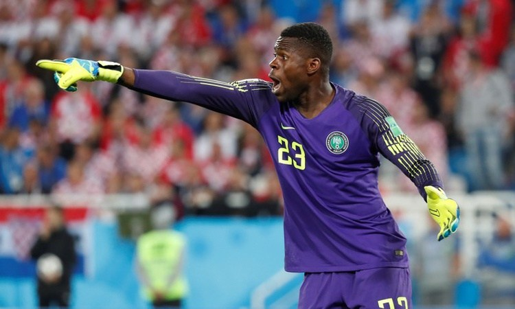 Greg Etafia wants Akpeyi and Ezenwa to fight Uzoho for Eagles Number one spot