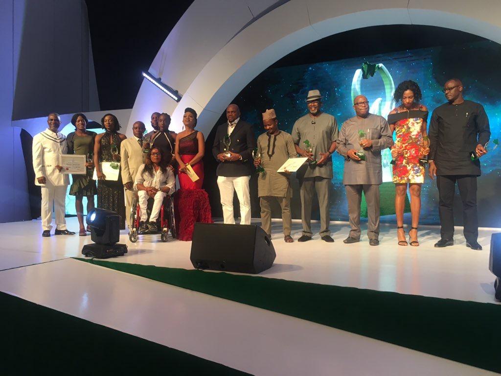 Quadri, Musa and Akhator win big at the Nigeria Sports Award