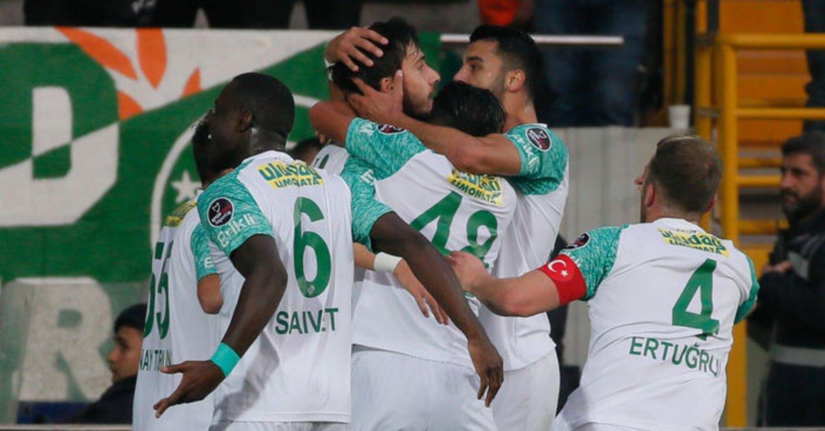 Shehu Abdullahi happy with Bursaspor's comeback win over Akhisarspor