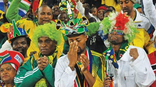South Africa Fans Shun Eagles Match As 'Only' 7,300 out of 40,000 Tickets Sold