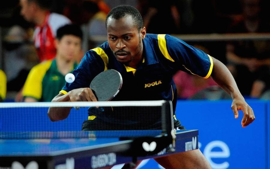 IOC Ranks Quadri Africa's most talented table tennis player
