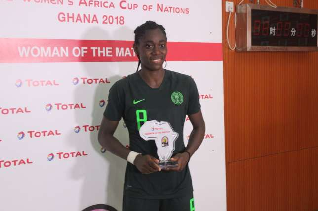 AWCON 2018: Oshoala expects difficult clash vs Cameroon