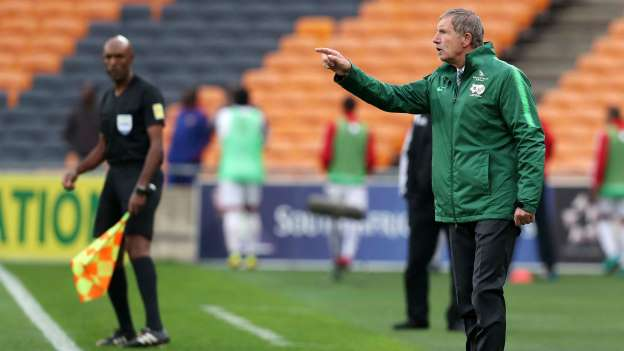South Africa Coach Baxter to be sacked if Bafana fail to qualify for AFCON 2019