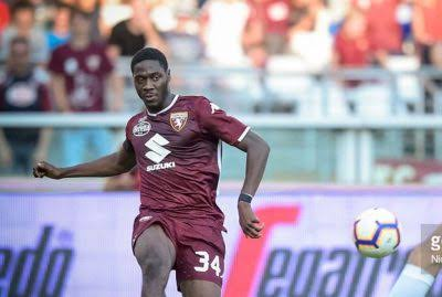 Torino Star Aina returns to Italy