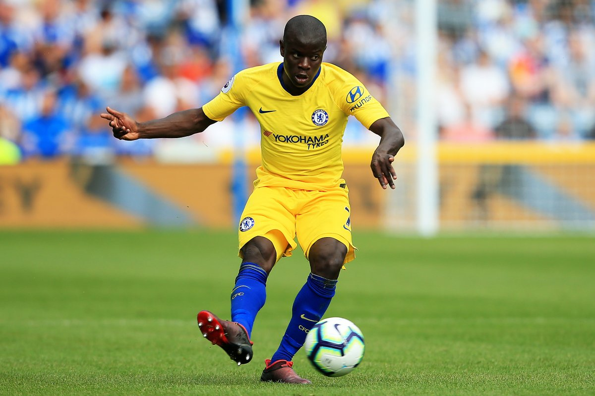 Sarri rules out Kante return to Chelsea central midfield