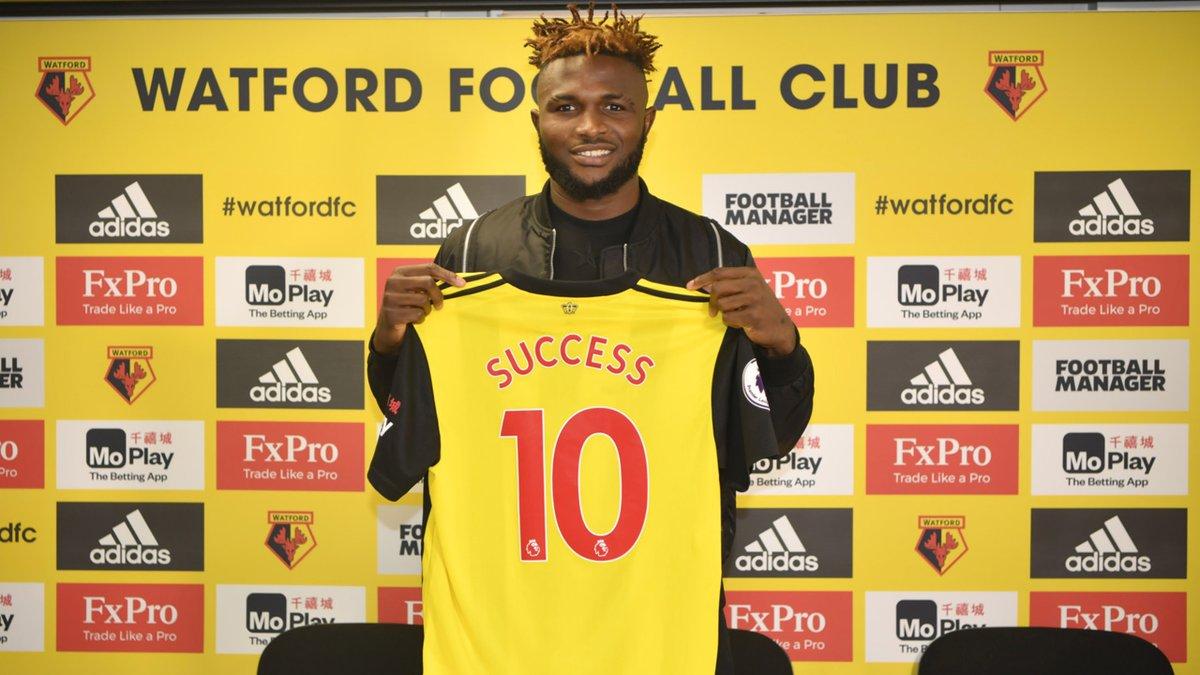 Isaac Success extends Watford deal until 2023