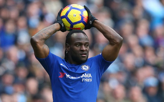 Sarri not sure about Moses' future at Chelsea