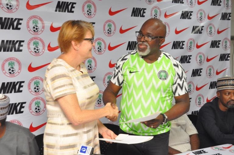 NFF signs 'improved' four-year contract with NIKE