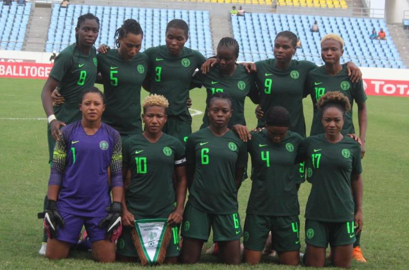 Super Falcons 2019 FIFA World Cup camp Opens January