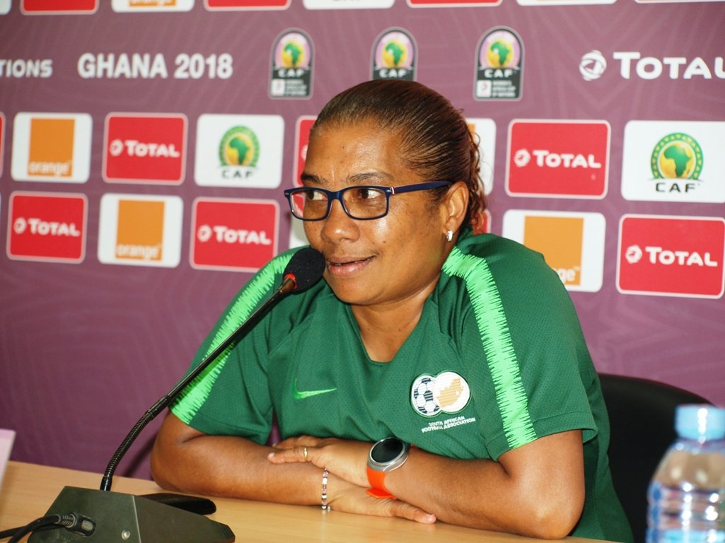 AWCON 2018: S/Africa coach Ellis wants Bayana Bayana to beat Falcons again