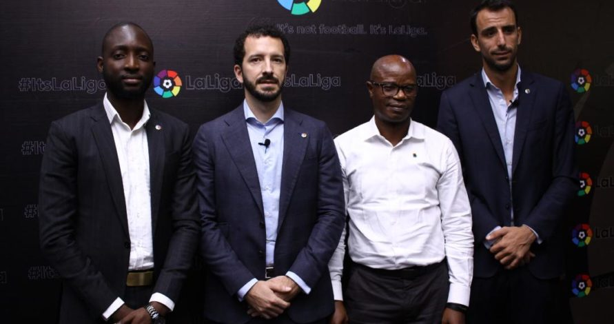 La Liga ready to support female football and other sports in Nigeria