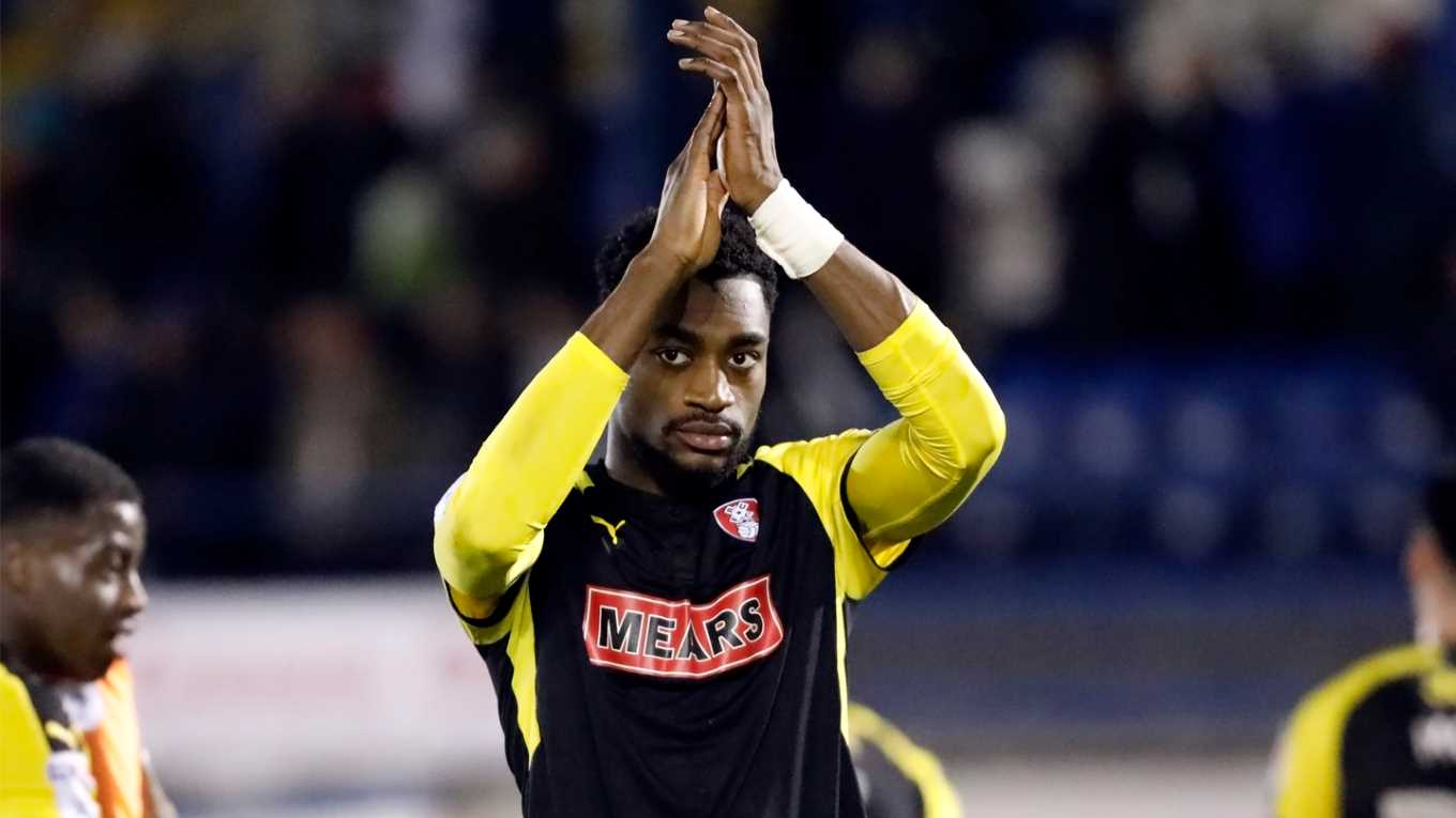 Rotherham United's Robertson desperate to hold onto Semi Ajayi